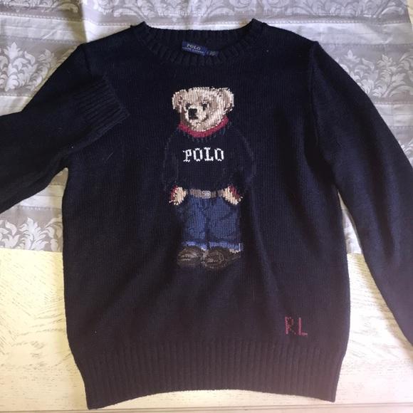 Ralph Lauren Sweaters Brand New Polo Bear Sweater Poshmark